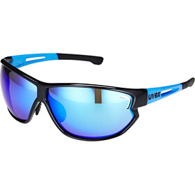 UVEX sportstyle 810 Glasses black blue